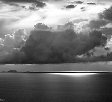 Stormclouds Over Gulf by vanyahaheights