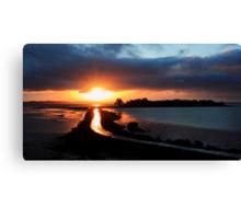 Island Hill Sunrise Canvas Print