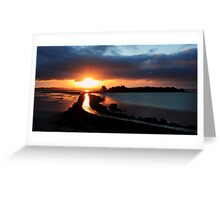 Island Hill Sunrise Greeting Card