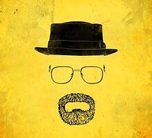 "Heisenberg's Haberdashery - ""Hazmat Suit"" Yellow by Nick Prevas"