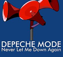 Depeche Mode : Never Let Me Down Again 2 by Luc Lambert