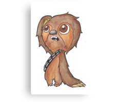 SlothBacca Canvas Print