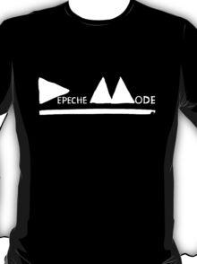 Depeche Mode : Logo 2013 White T-Shirt