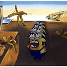 The persistence of Banana - Salvador Dali minion by kennypepermans