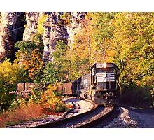 Eggleston, VA Coal Drag - Virginian Railway Photographic Print