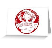Honnōji Academy Fighting Club Greeting Card