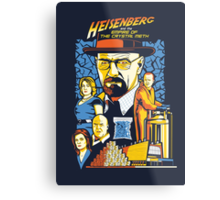Heisenberg and the Empire of the Crystal Meth Metal Print