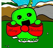 The Christmas Dinosaur by JazminTyler
