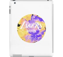 Lakers Nation iPad Case/Skin