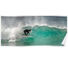 Dicky Beach Surfer Poster