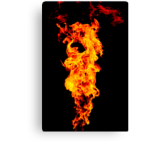 Universal Flame. Canvas Print