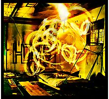 Epicentre Fire - Transmutation Photographic Print