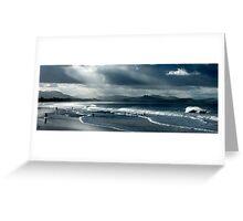 Byron Beach Winter Landscape Greeting Card