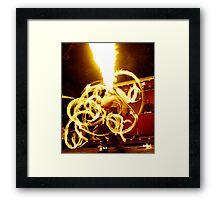 Explode Framed Print