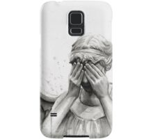 Doctor Who Weeping Angel - Don't Blink! Samsung Galaxy Case/Skin