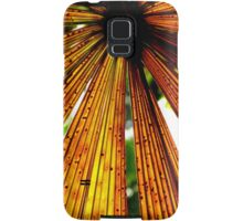 Rusty Colours of a Licuala Fan Palm Samsung Galaxy Case/Skin