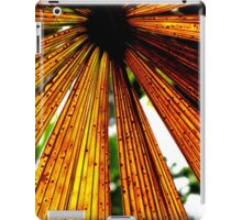 Rusty Colours of a Licuala Fan Palm iPad Case/Skin