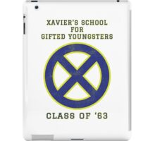 Xavier's School for Gifted Youngsters iPad Case/Skin