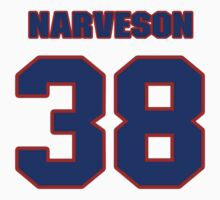 National baseball player Chris Narveson jersey 38 by imsport