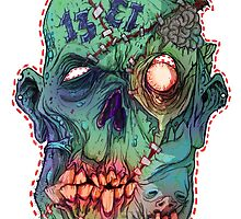 Trick-or-Treating Rotted Face by VonKreep