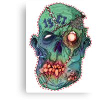 Trick-or-Treating 1313 Rotted Face Canvas Print