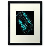 The system holds justice at gunpoint Framed Print