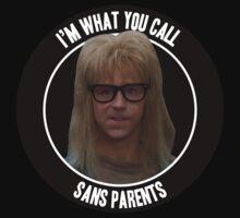 Waynes World - Sans Parents T-Shirt