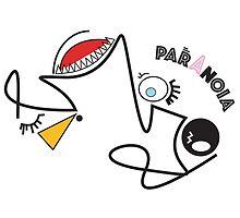Paranoia - Emotions illustrated by shakeandurban