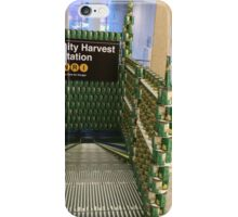 Canstruction, Can Sculptures, New York City Subway Entrance, Brookfield Place, New York City  iPhone Case/Skin