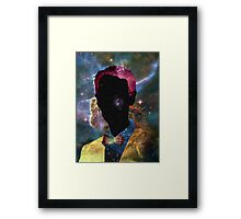 Bill Nye the Interdimensional Guy Framed Print