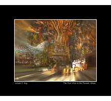 The Past Alive in the Present in Ghana Fine Art Poster Photographic Print