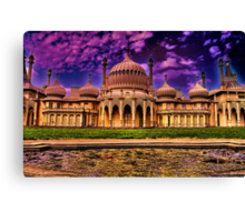 The Royal Pavilion  Canvas Print