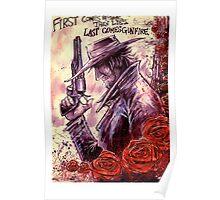 Last Comes Gunfire Poster