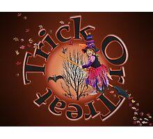 Trick Or Treat 2 Photographic Print