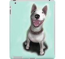 Lola English Bull Terrier Painting iPad Case/Skin