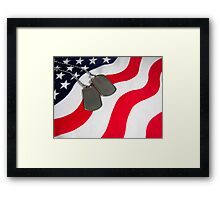 We Remember! Framed Print