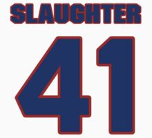 National baseball player Sterling Slaughter jersey 41 by imsport