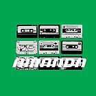 Amanda: Cassette Tapes by cudatron