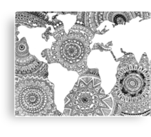 Original World Design Canvas Print