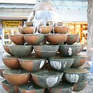 Brass Water fountain in Nuremberg by Keith Larby