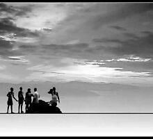 Men at Work by Kaushik Chatterjee