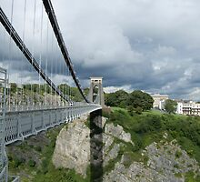 Clifton Suspension Bridge by Karl Gookey