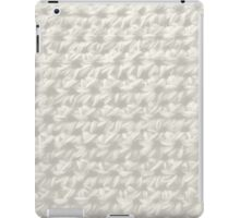 Crochet :white wash iPad Case/Skin