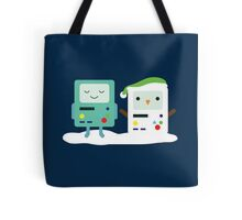 Building SnowMO (Green) Tote Bag