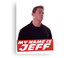 Jeff Canvas Print
