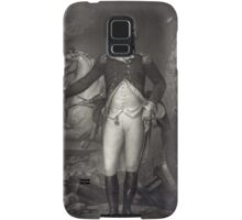 George Washington on the Battlefield Samsung Galaxy Case/Skin