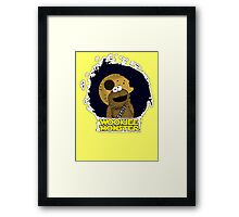 Wookiee Monster... Framed Print