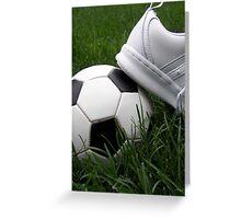 Soccer Season Greeting Card
