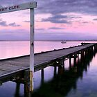 Davey's Bay Yacht Club by Sam Sneddon