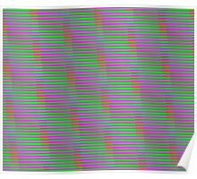 Interference Pattern Poster